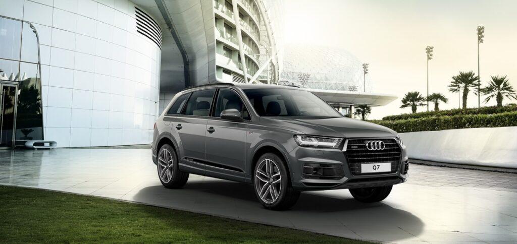 В России кроссовер Audi Q7 получил спецверсию