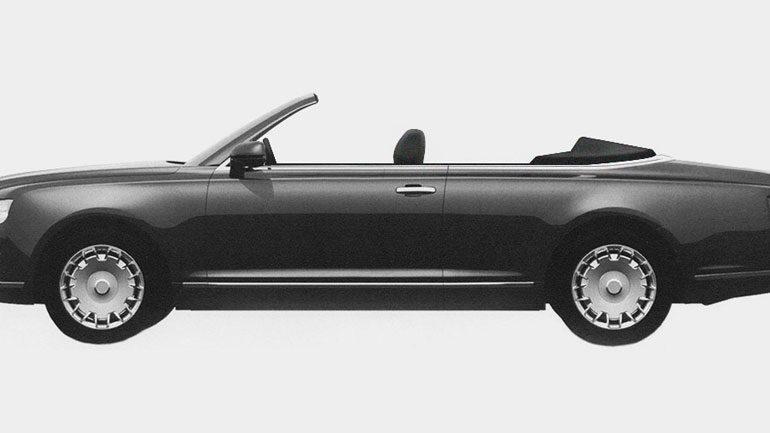 Под брендом Aurus выйдет парадный кабриолет