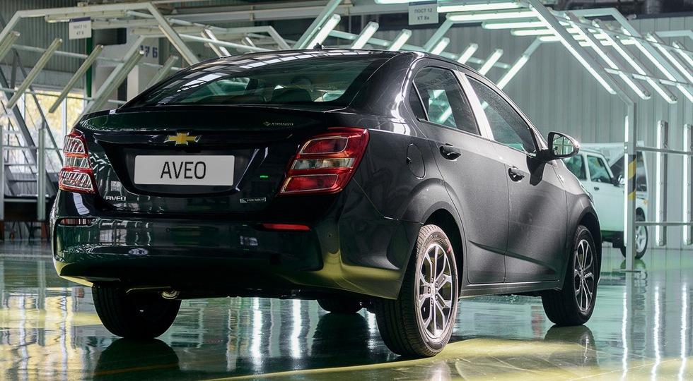 В Казахстане стартовал выпуск рестайлингового Chevrolet Aveo