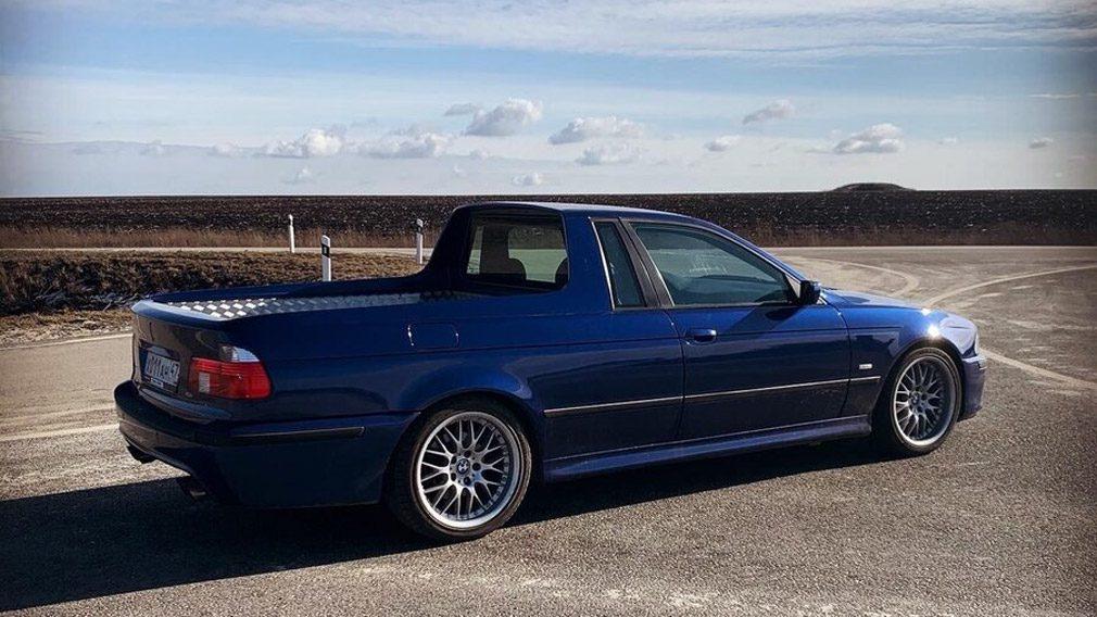 В России продают уникальный пикап BMW за 2,5 млн рублей