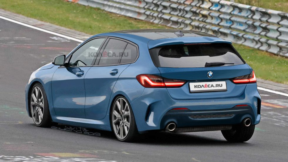 В сети появились рендеры нового поколения хэтчбека BMW 1-Series