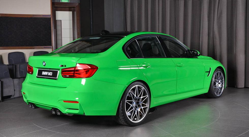 В Дубае продают седан BMW M3 по прозвищу «лягушонок»