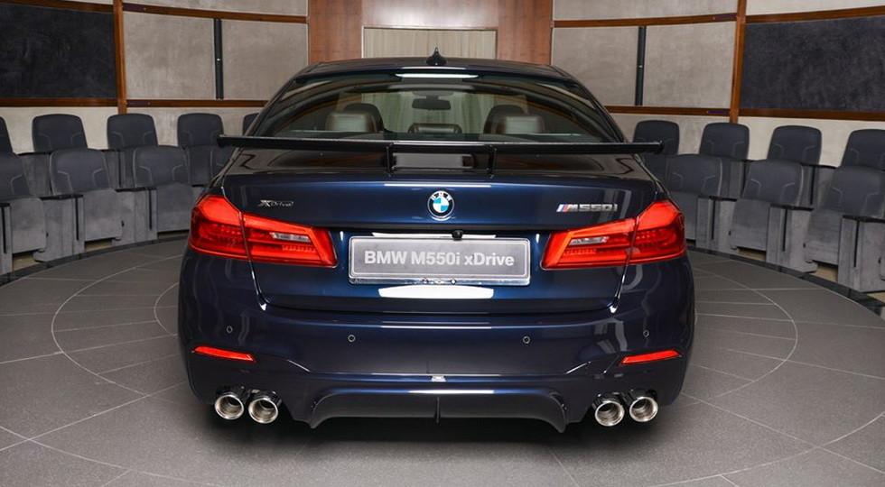 Арабский седан BMW M550i получил очень «крутой» тюнинг