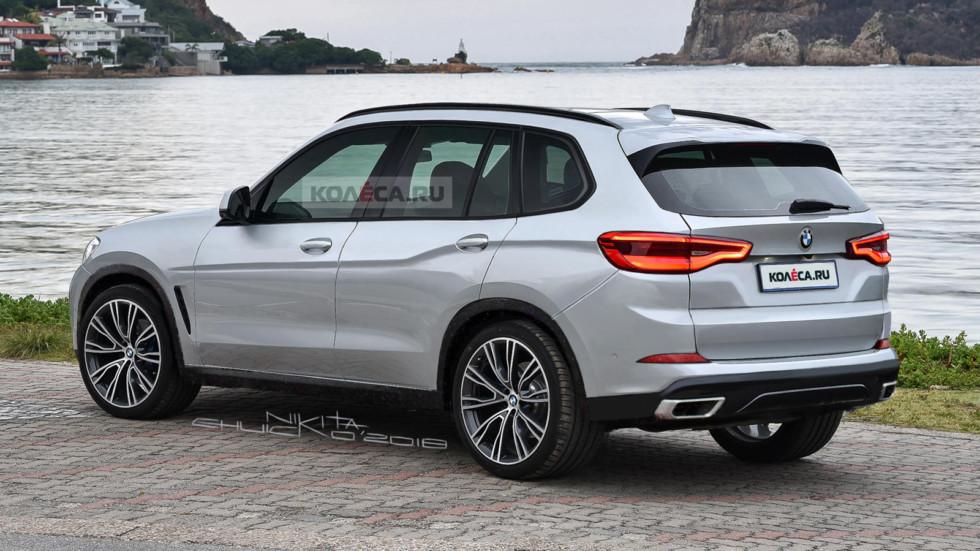 В Сети опубликовали первые рендеры нового кроссовера BMW X5