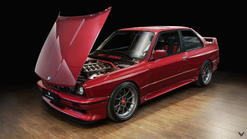 28-летний BMW M3 подвергся масштабной реставрации