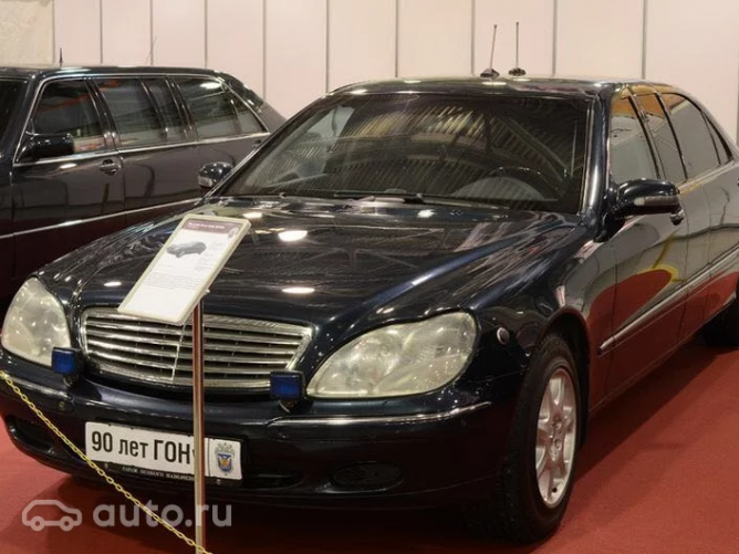 ФСО опровергла информацию о продаже автомобиля Путина