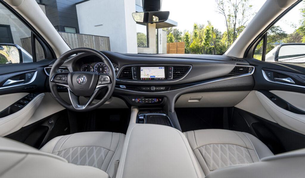 Обновлённый кроссовер Buick Enclave представили официально