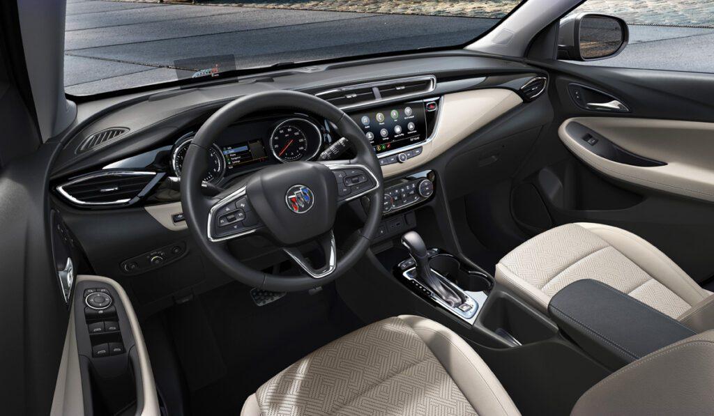 Новый кроссовер Buick Encore GX придет в США из Китая