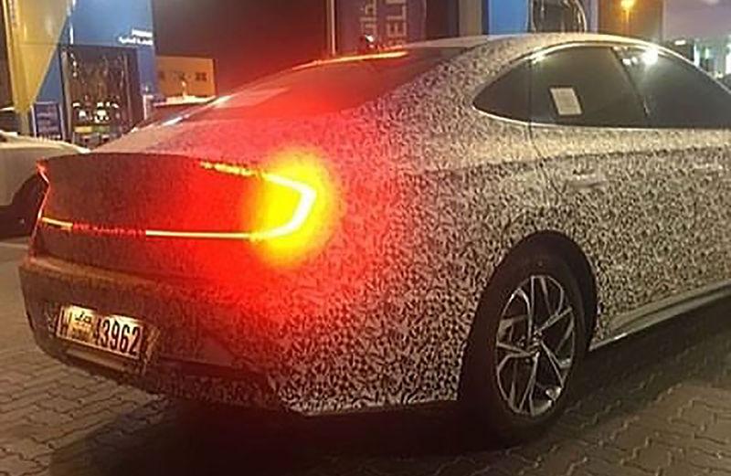 Появились первые фотографии новой Hyundai Sonata