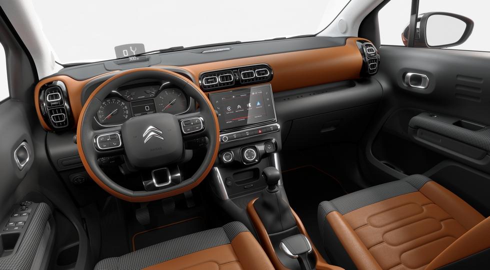 Новый кроссовер Citroen C3 Aircross пользуется спросом в Европе