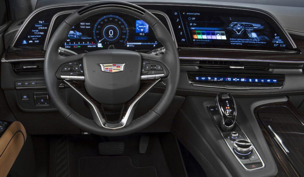 Презентован новый внедорожник Cadillac Escalade