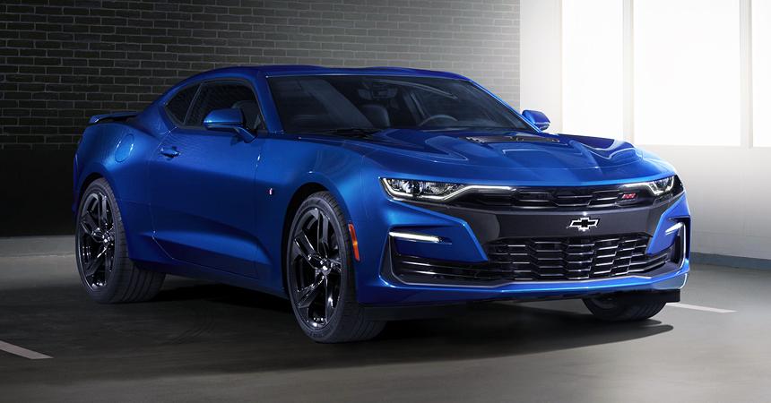 Компания Chevrolet представила обновленный спорткар Chevrolet Camaro