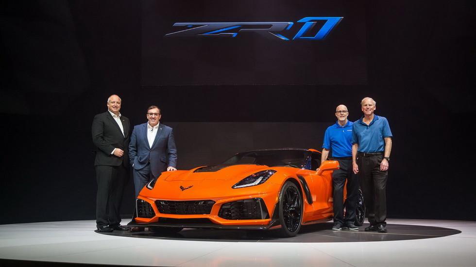 Первый Chevrolet Corvette ZR1 продан на аукционе почти за $1 млн