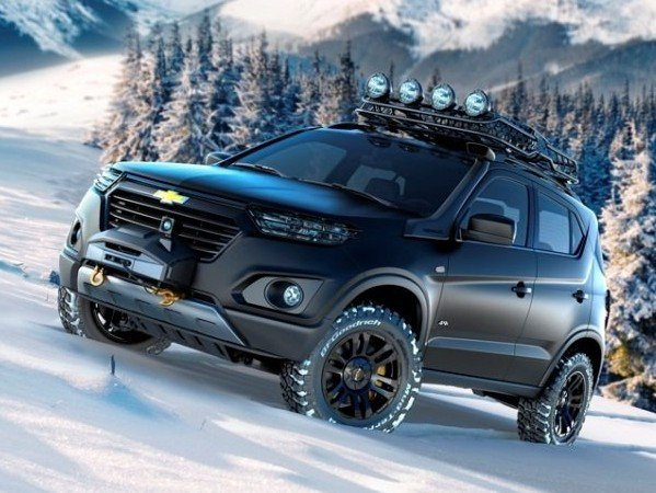 Новую Chevrolet Niva представили дилерам марки