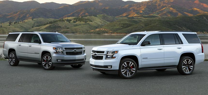 Chevrolet презентовал внедорожник Suburban RST с пакетом от Performance