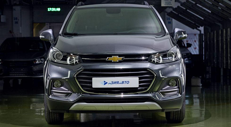 Производство Chevrolet Tracker вернули на завод в Усть-Каменогорске