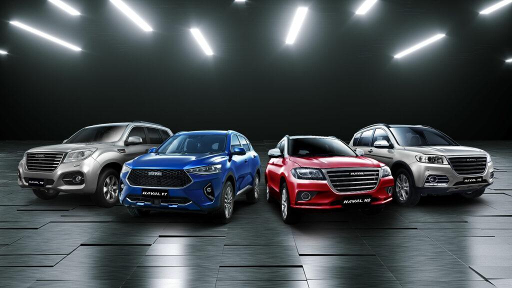 Продажи китайских машин на рынке РФ выросли в 1,5 раза