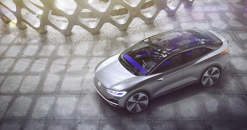 Появились первые рендеры электрического кроссовера Volkswagen ID Cross