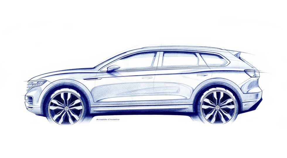Volkswagen представит новое поколение кроссовера Touareg 23 марта