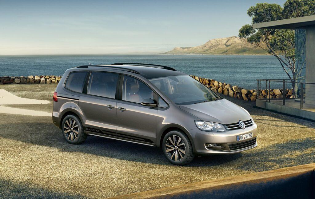 Компания Volkswagen обновила минивэн Sharan