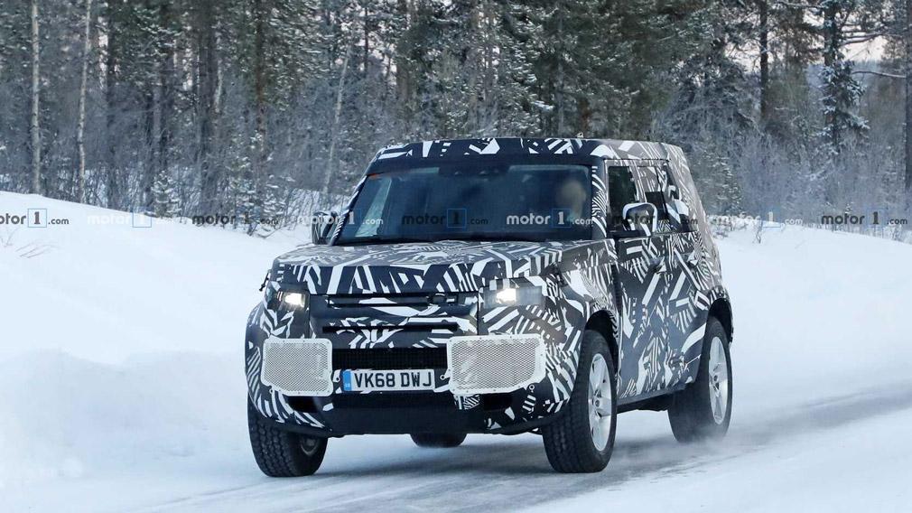Названа выхода внедорожника Land Rover Defender новой генерации