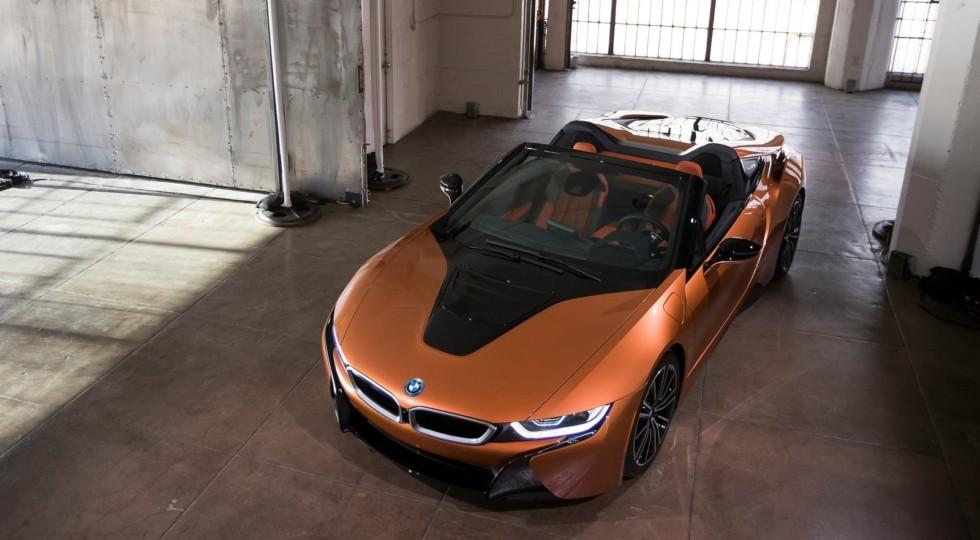Названы российские цены на BMW i8 Coupe и BMW i8 Roadster