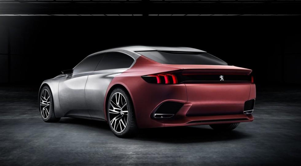 Седан Peugeot 508 нового поколения дебютирует в Женеве