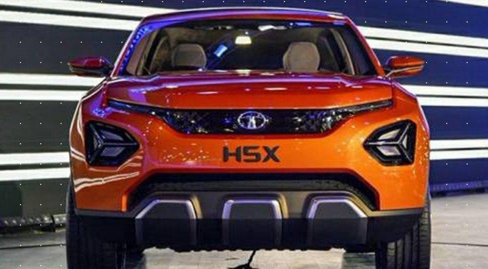 Tata представила новый кроссовер на базе Land Rover Discovery Sport