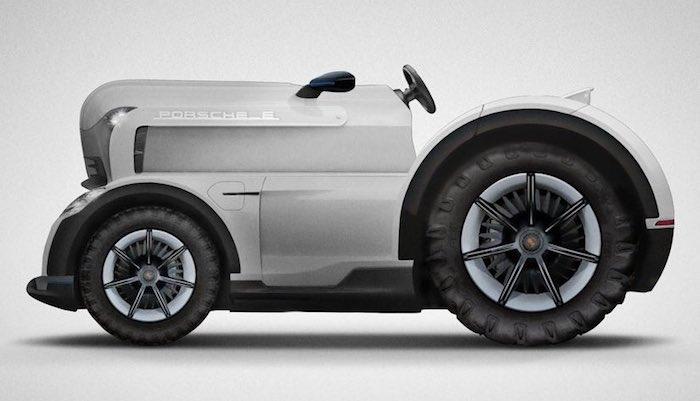 Porsche выпустит бесшумный и быстрый трактор