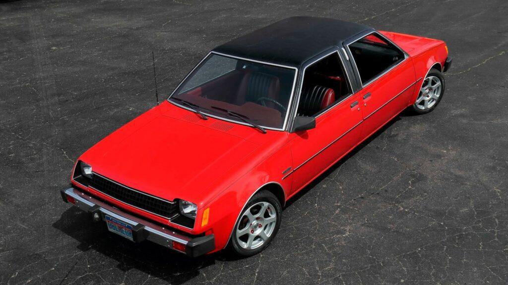 На аукционе Mecum продадут гибрид Dodge Colt и Plymouth Champ