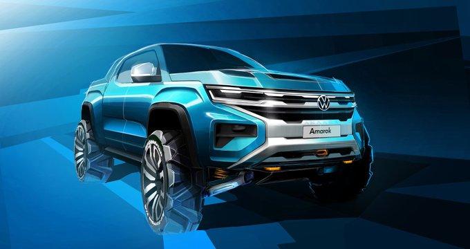 Ford займется выпуском нового пикапа Volkswagen Amarok
