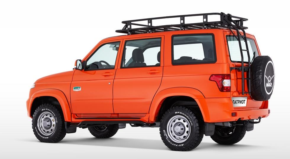 УАЗ представил «экспедиционный» внедорожник УАЗ «Патриот»