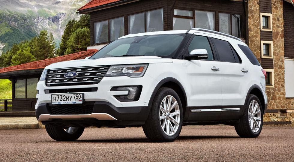 Продажи внедорожника Ford Explorer в РФ стали рекордными в ноябре
