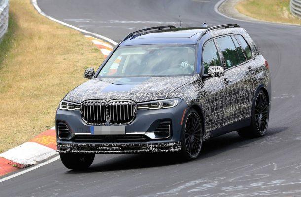 Alpina вывела на тесты большой кроссовер BMW X7