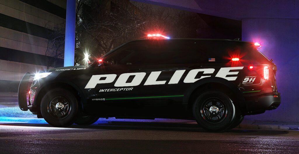 Ford представила полицейский Ford Explorer нового поколения