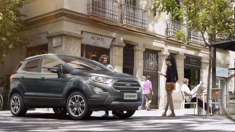 Дилеры Ford в РФ начали продажи обновленного кроссовера EcoSport