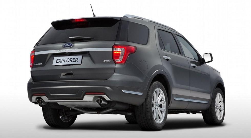 Новый внедорожник Ford Explorer представили в России