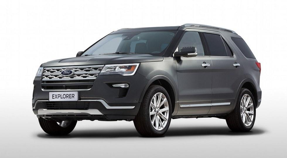Продажи кроссовера Ford Explorer в РФ в августе выросли на 79%