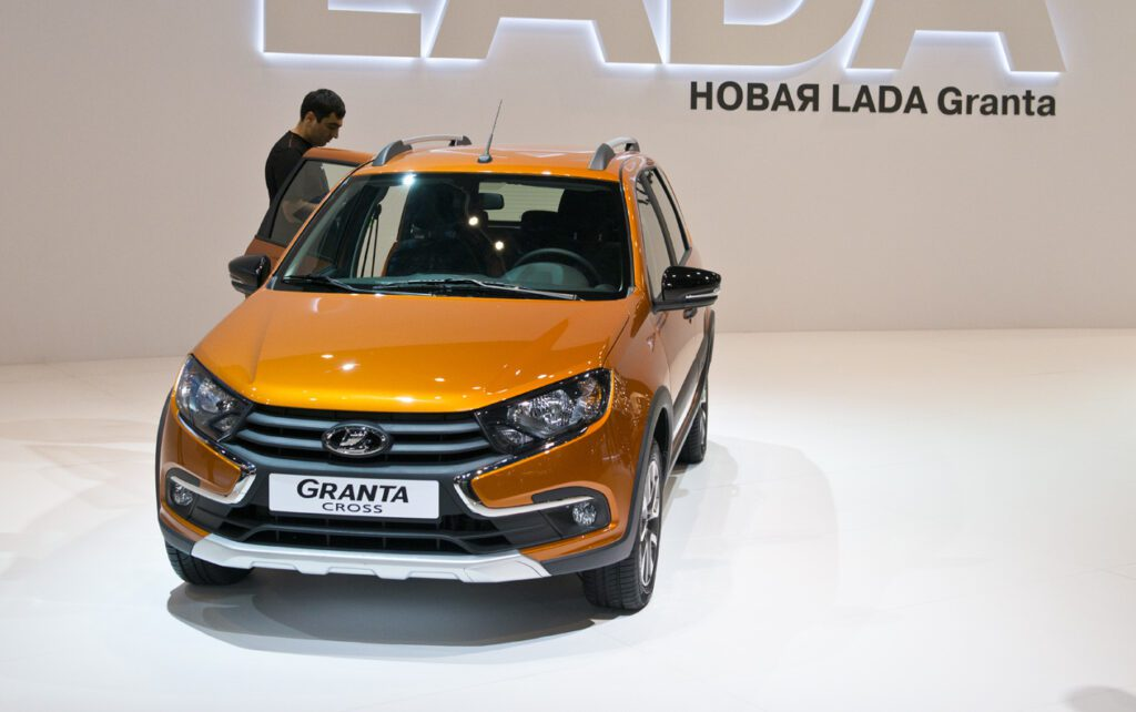 Универсал Lada Granta Cross скоро поступит в продажу
