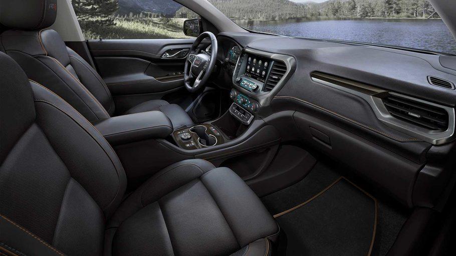 Обновленный кроссовер GMC Acadia получил новый турбомотор
