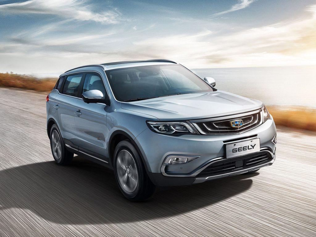 Geely Atlas стал самым доходным китайским автомобилем в РФ