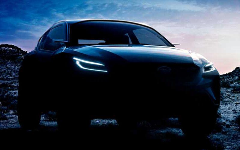 Subaru покажет в Женеве совершенно новый кроссовер