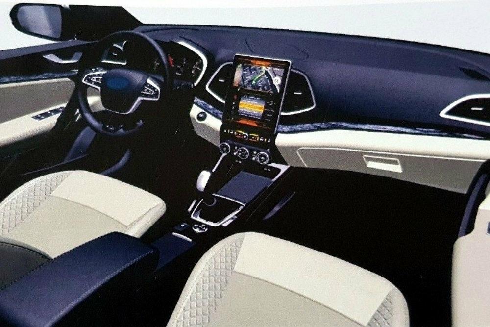 Обновленная Lada Vesta получит вертикальный планшет мультимедийной системы