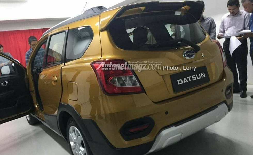Опубликованы шпионские снимки нового Datsun Go Cross 2019