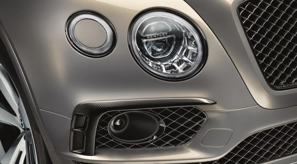 Bentley Bentayga в России получил новую версию Bentayga Black Edition