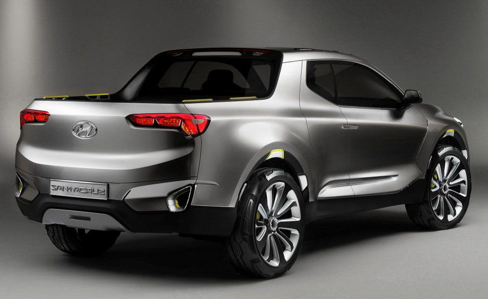 Новый пикап Hyundai построят на платформе Tucson следующего поколения