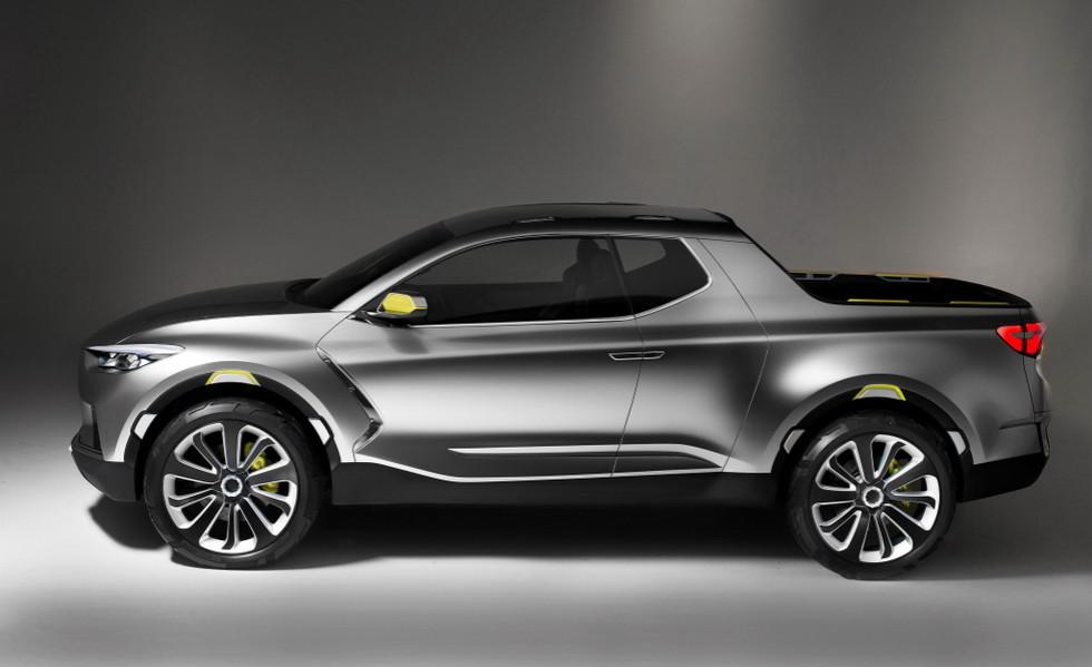Новые пикапы Hyundai и Kia появятся после 2020 года