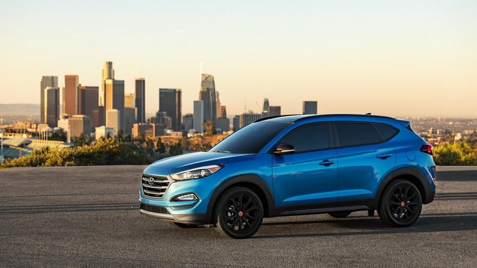 Рестайлинговый кроссовер Hyundai Tucson получил новые опции