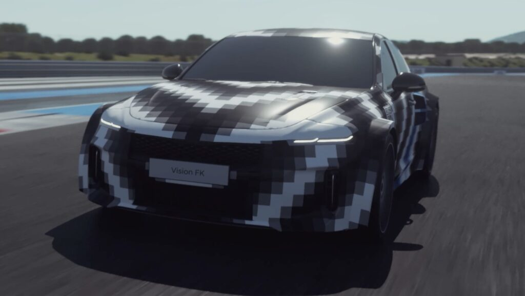 Hyundai показала концепт Vision FK с водородным 670-сильным двигателем
