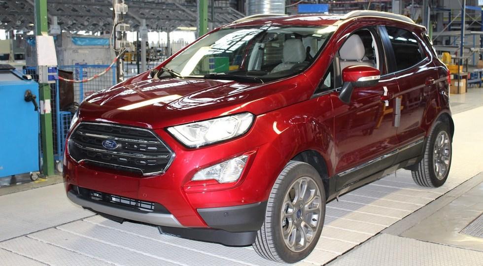 В Европе стартовало производство Ford EcoSport с комплектующим из России